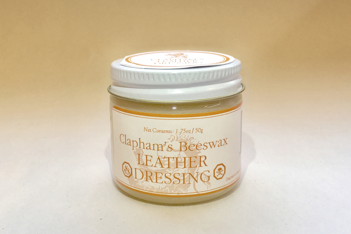 Clapham's Beeswax Leather Dressing