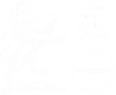 Clapham's, Climate Smart & Offsetters logos